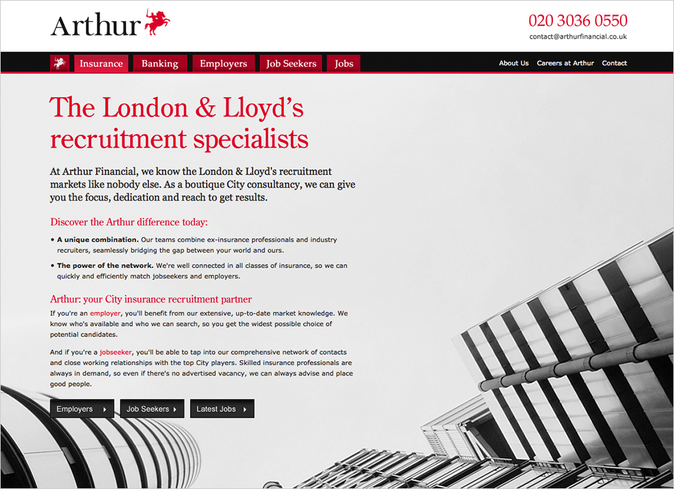 Arthur Financial insurance recruitment services
